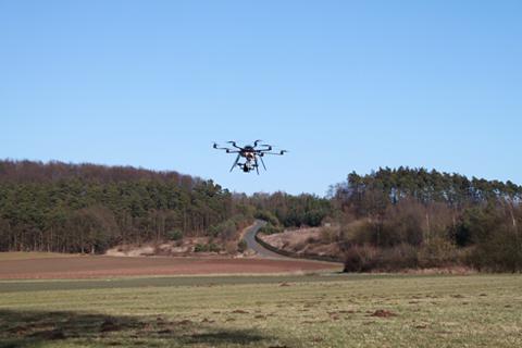 Luftaufnahme Fotodrohne