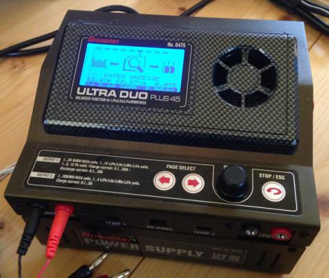 Grauper Lipo Ladegerät Ultra Duo Plus 45