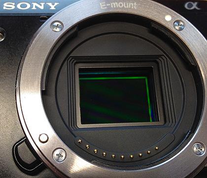 Sensor der Sony NEX 7