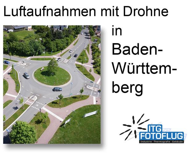 Luftaufnahmen in Baden-Württemberg