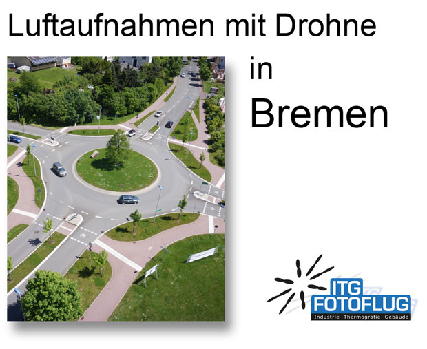 Luftaufnahmen in Bremen