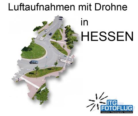 Luftaufnahmen in Hessen
