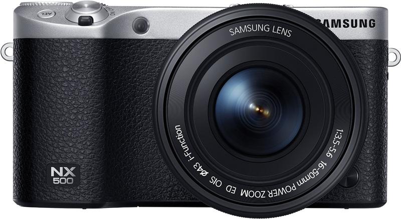 Systemkamera Samsung NX500 Front