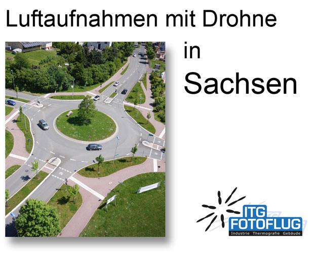 Luftaufnahmen in Sachsen