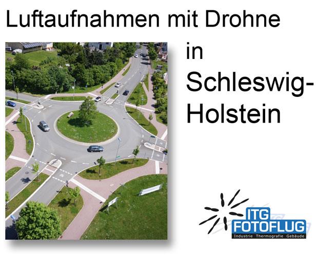 Luftaufnahmen in Schleswig-Holstein
