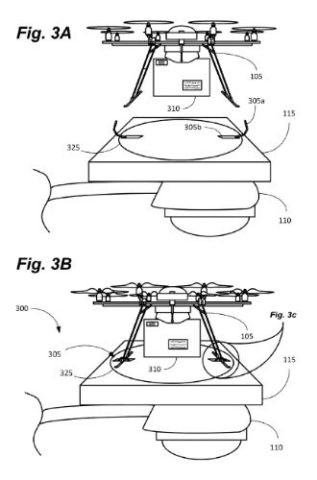 Amazon Drohne Ladestation