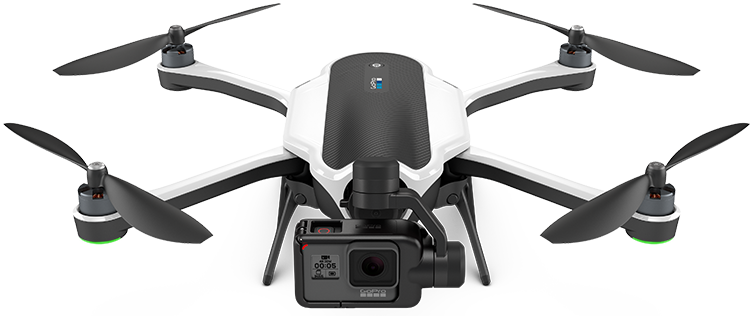 gopro karma drohne drone quadrocopter gopro hero 5 session black