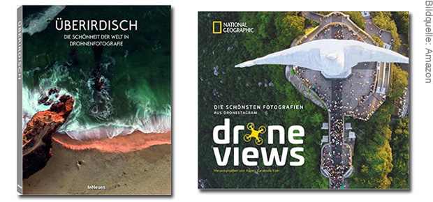 Finden Sie hier das richtige Fotobuch mit Drohnenfotografie. Mit der Drohne aufgenommene Fotos im Bildband zeigen atemberaubende Bilder der Welt von oben.