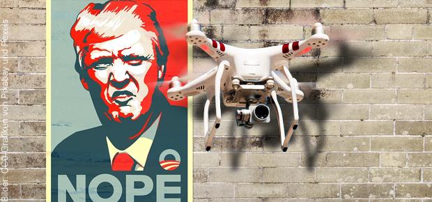 Abwehr von Drohnen in den USA unter Präsident Donald Trump