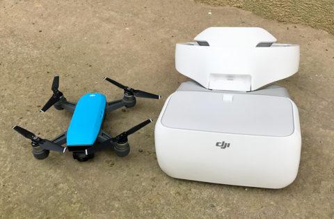 Kann man die DJI Spark und die DJI Goggles koppeln? Derzeit ist eine Verbindung dieser Geräte nicht möglich.
