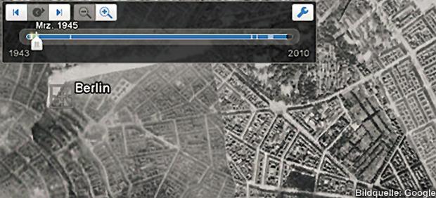 Historische Luftbilder Luftaufnahmen