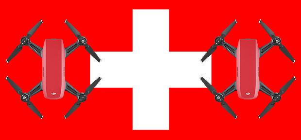 Für Quadrocopter-Piloten in der Schweiz, die eine professionelle Kamera-Drohne wollen, ist die DJI Spark ideal, da sie weniger als 500g wiegt.